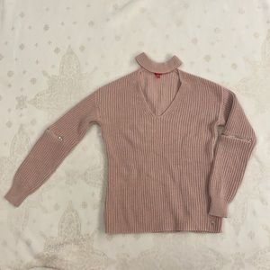 Guess Peach Coloured Sweater, Size Small